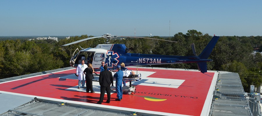 Ocala Regional Medical Center (ORMC) Helipad